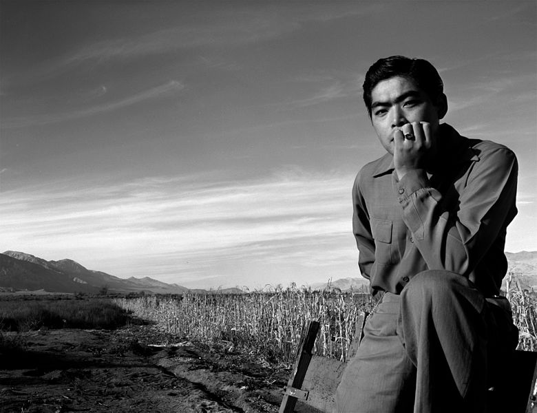 780px-Ansel_Adams,_Portrait_of_Tom_Kobayashi_at_Manzanar,_1943