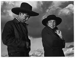 Georgia O'Keeffe and Orville Cox – Ansel Adams