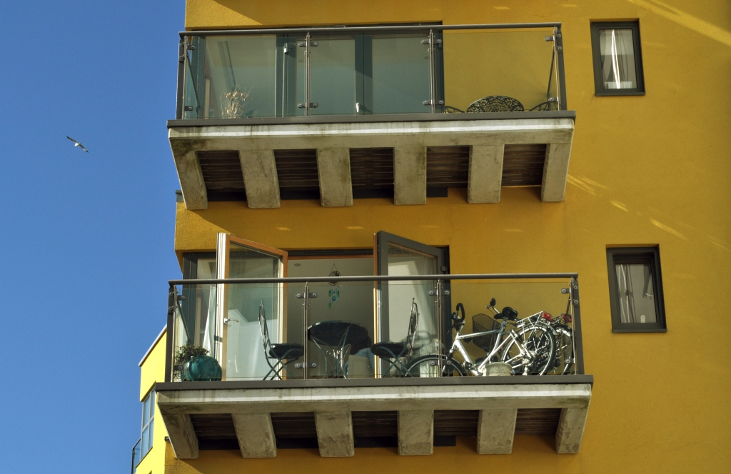 soverign harbour yellow building 2
