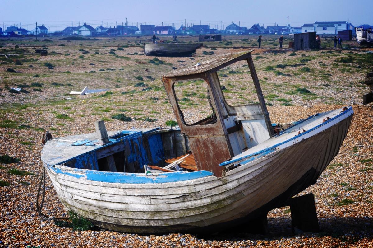 Bygone fishing economy.