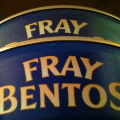 Fray Bentos - Meat pie in a tin.